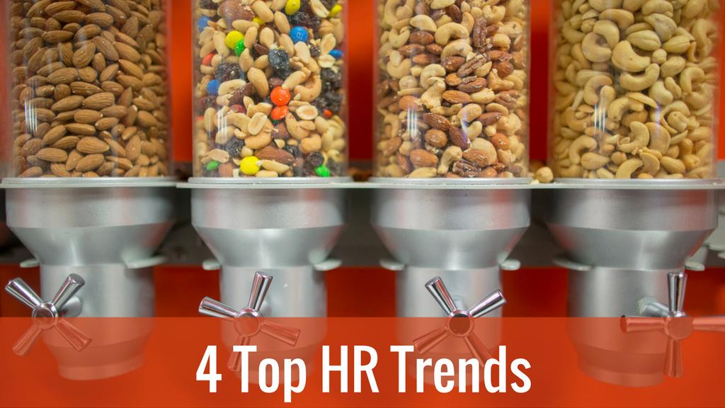 Schöne neue Arbeitswelt – 4 Top HR Trends