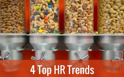 Die Arbeitswelt der Zukunft im Hier und Jetzt: 4 Top HR Trends