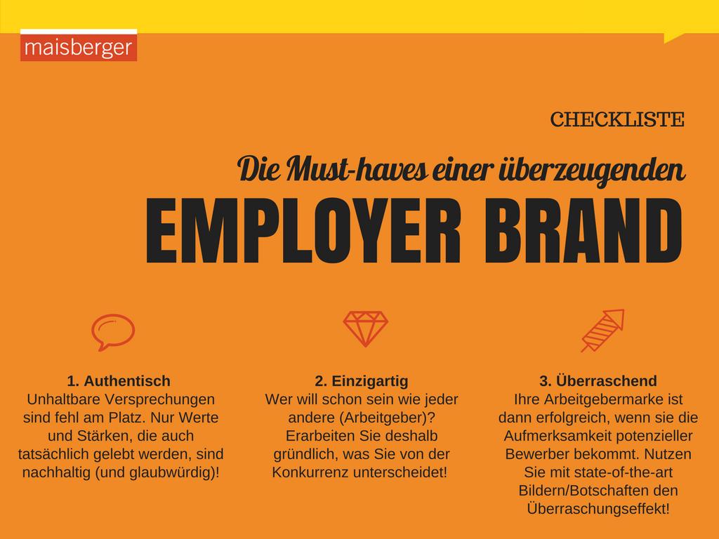 Die Employer Brand: In vier Schritten zur Arbeitgebermarke- human-centered-communications