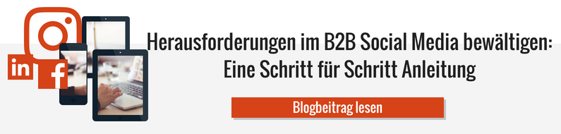 Link zum Blogbeitrag Social Media in B2B